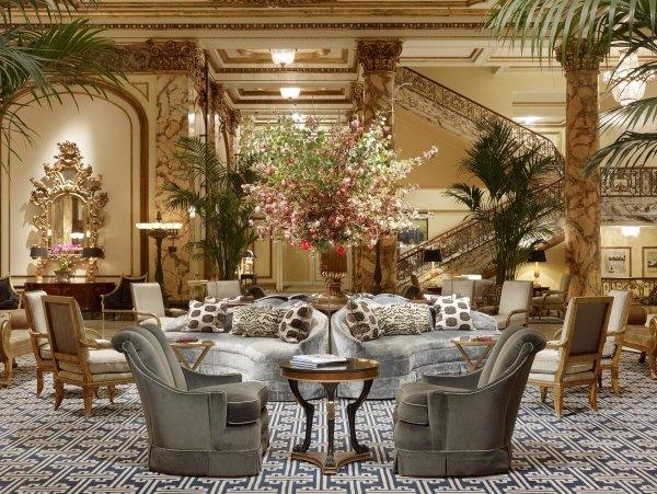Los vestíbulos de hotel más elegantes del mundo